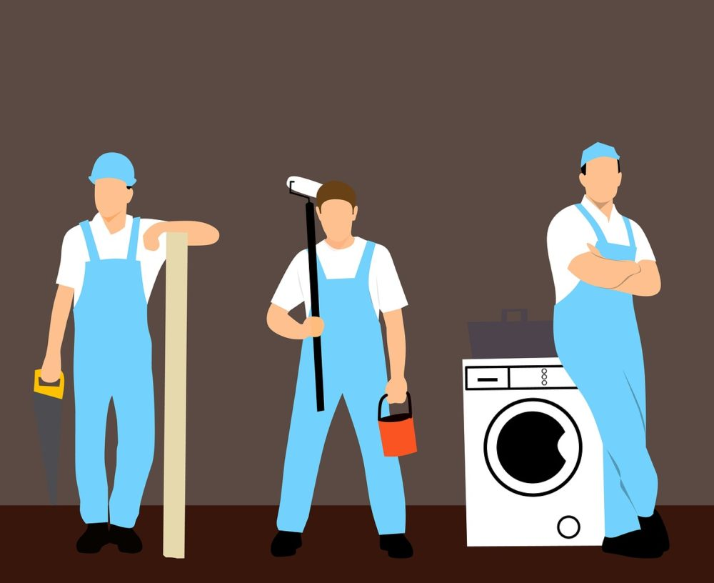 home repair cleaning