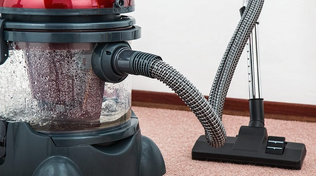 Cleaning carpet at home