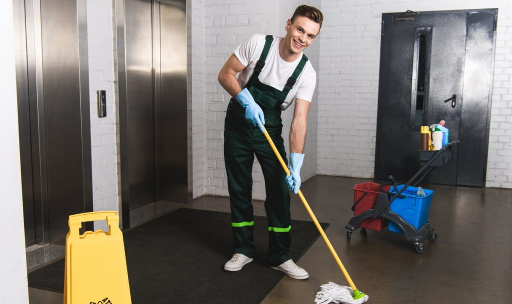 Janitor Service Office Cleaning
