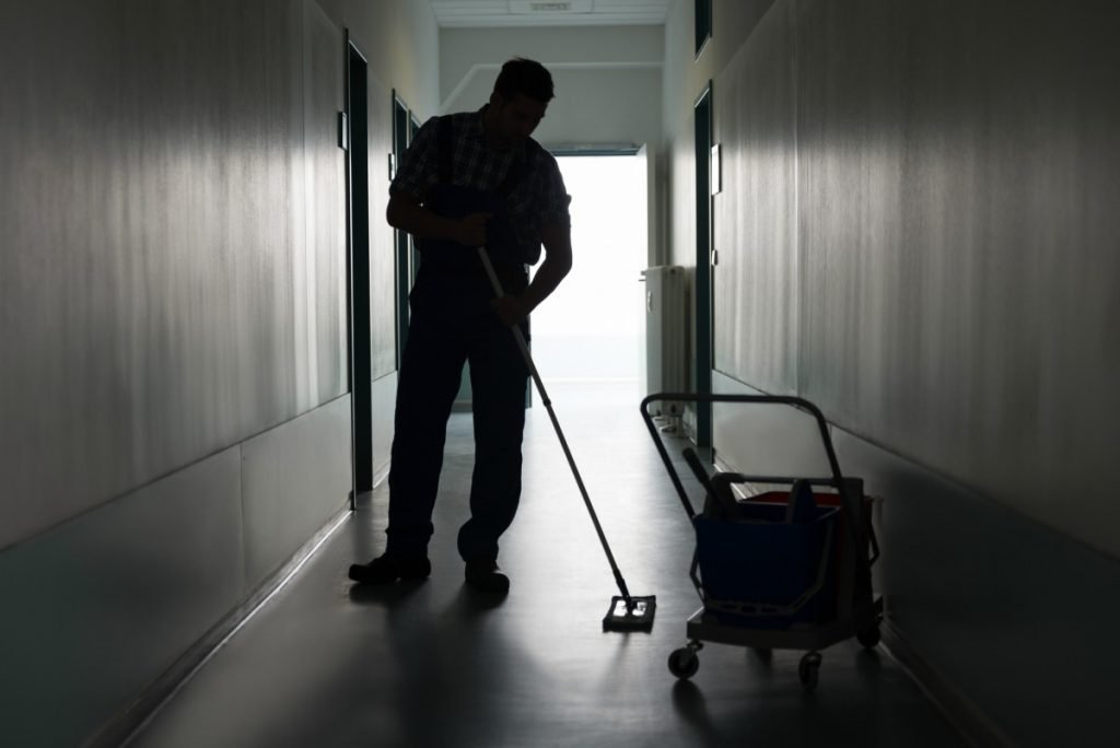 hire a janitor