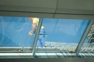 Window cleaning best janitor in tucson AZ